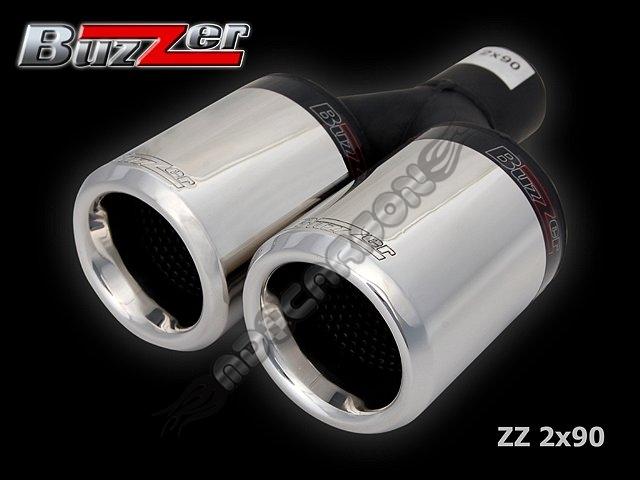 Końcówka Tłumika Podwójna Zz2x90 Buzzer