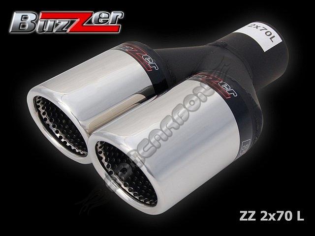 Końcówka Tłumika Podwójna Zz2x70l Buzzer