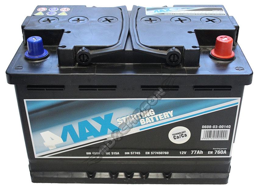 Akumulator 77ah 760a P 12v 4max Ecoline